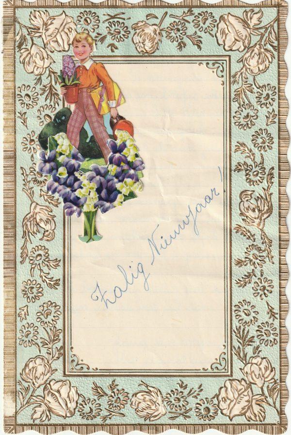 voorkant nieuwjaarsbrief 1956